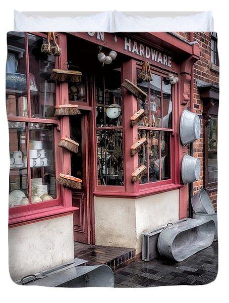 Victorian Stores Duvet Cover