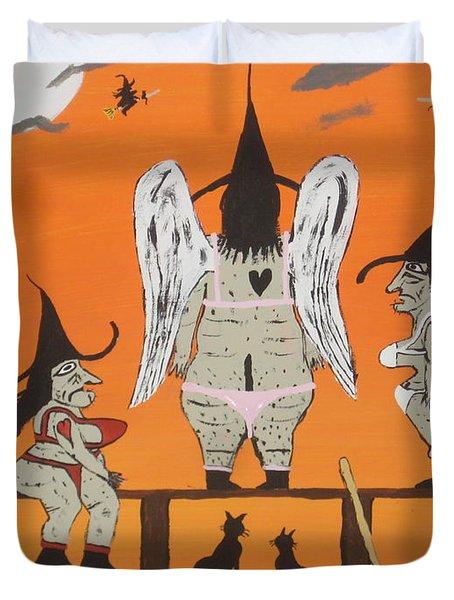 Victoria's Secret Witches Duvet Cover