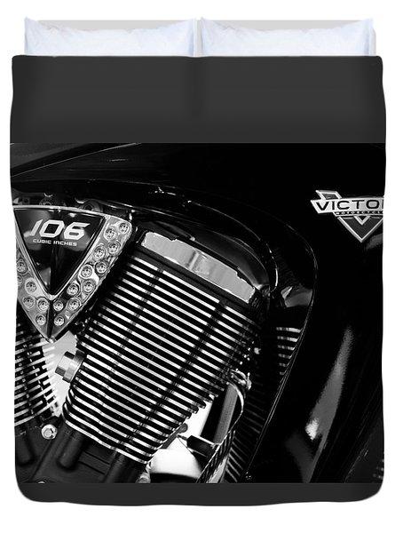 Victory Bw V1 Duvet Cover