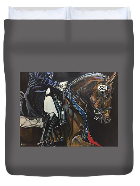 Victory Ride Duvet Cover by Stephanie Come-Ryker