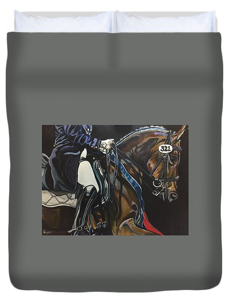 Victory Ride Duvet Cover
