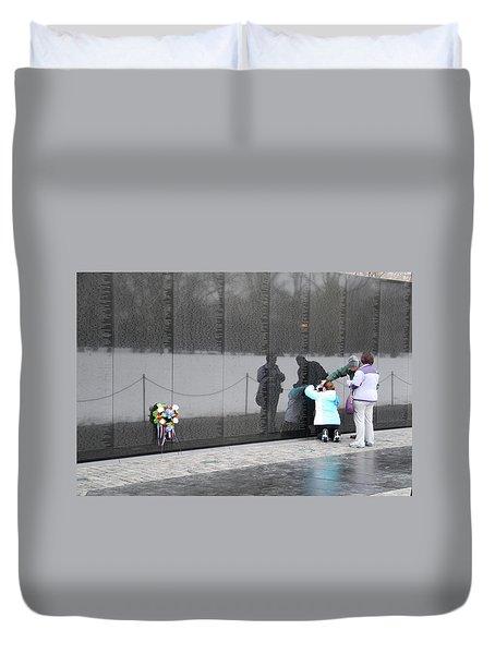 Vietnam Wall Family Duvet Cover