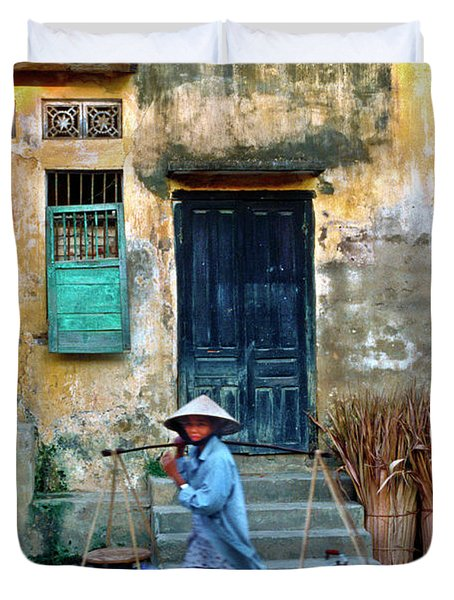 Vietnamese Street Food Sound Duvet Cover