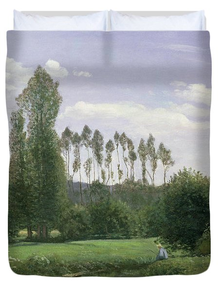 View At Rouelles Duvet Cover