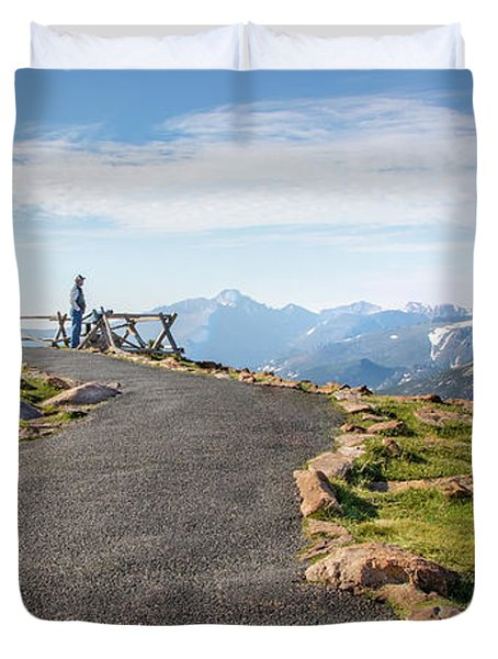 View At The Top Duvet Cover