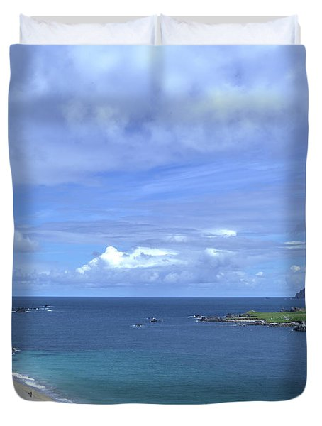 View Blasket Island #g0 Duvet Cover