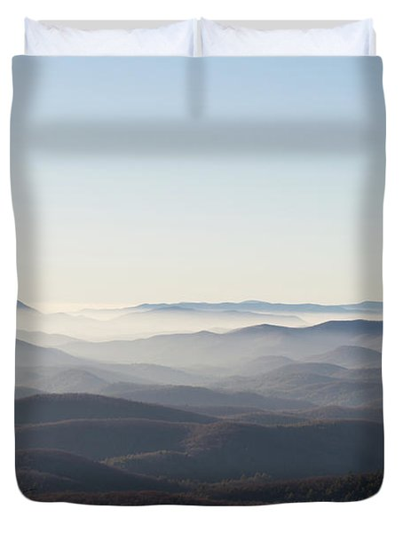 View From Blood Mountain Duvet Cover