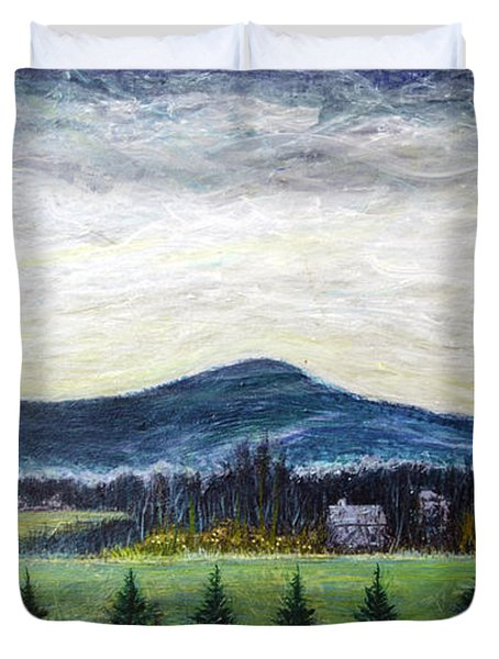 View From Ernie Lane Duvet Cover