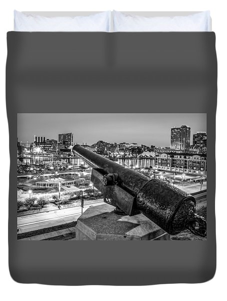 View From Federal Hill Duvet Cover