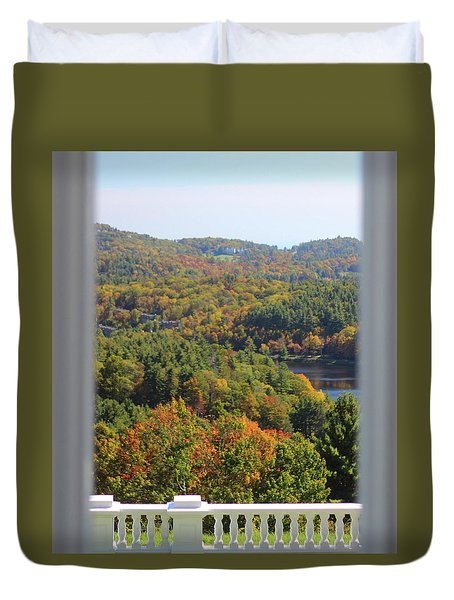 View From Moses Cone 2014b Duvet Cover