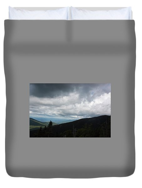 View From Mount Washington  Duvet Cover by Suzanne Gaff