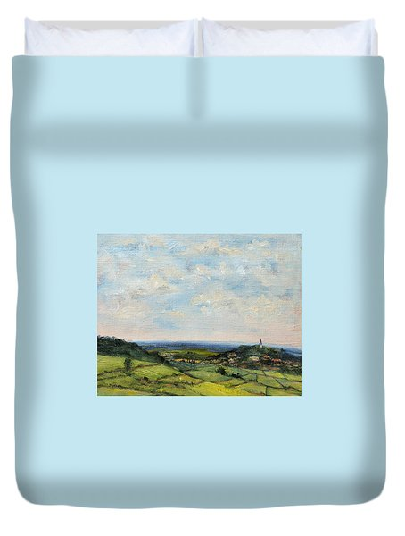 View From My Window Duvet Cover by Jill Musser