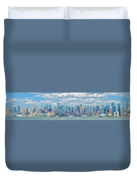 View From New Jersey 2 Duvet Cover