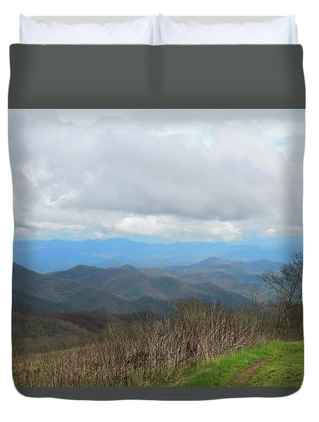 View From Silers Bald 2015d Duvet Cover