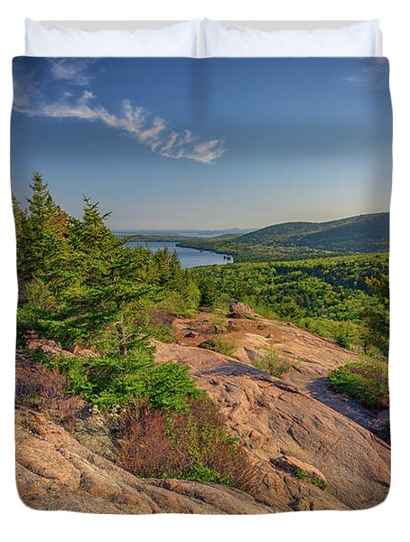 View From South Bubble Duvet Cover by Rick Berk