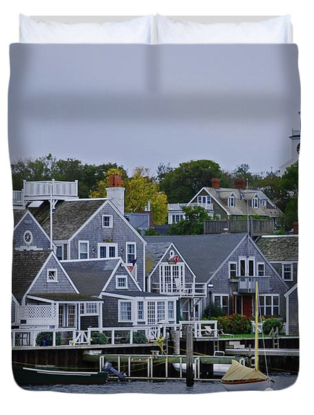 View From The Water Duvet Cover