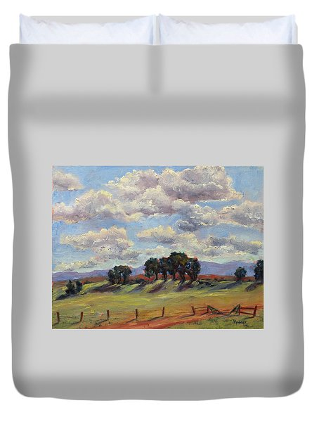 Saratoga Country Duvet Cover by Jill Musser