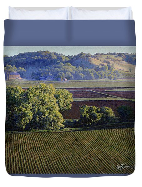 View From Waterman South Duvet Cover