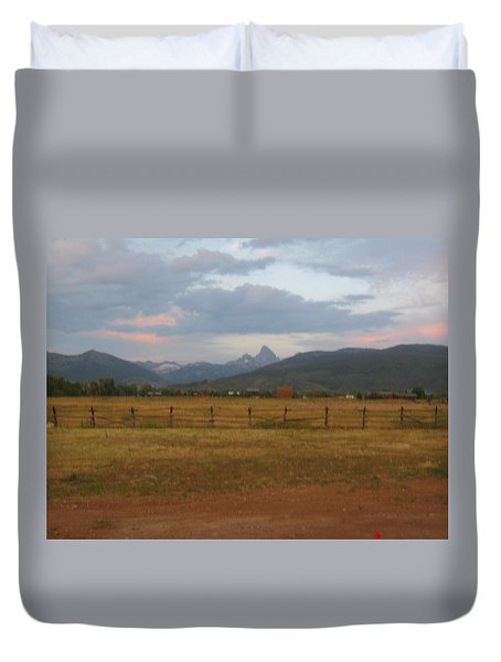 View Of A Lifetime Duvet Cover