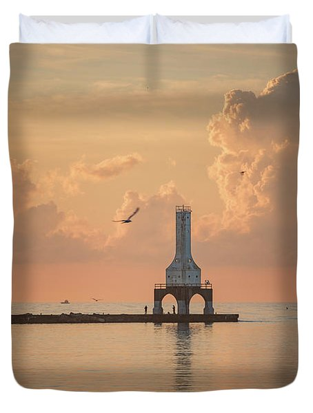 View Of Heaven Duvet Cover
