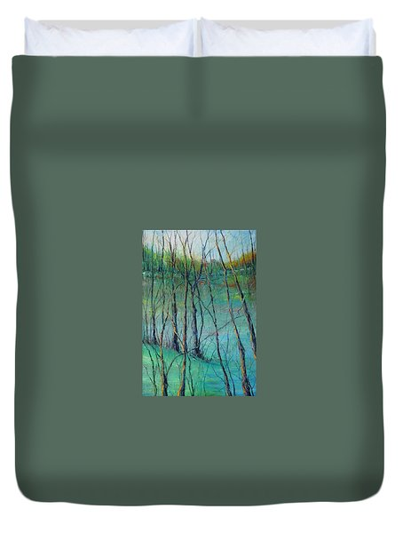 View Of Nature's Canvas Duvet Cover