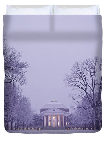 View Of The University Of Virginias Duvet Cover