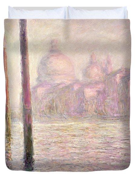 View Of Venice Duvet Cover by Claude Monet