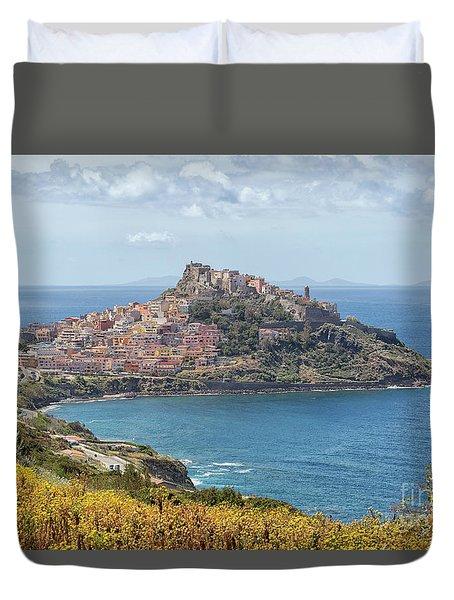 View On Castelsardo Duvet Cover