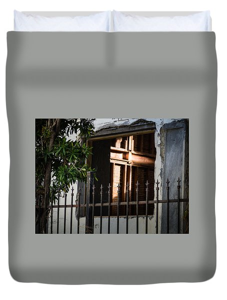 View To A Higher Power Duvet Cover