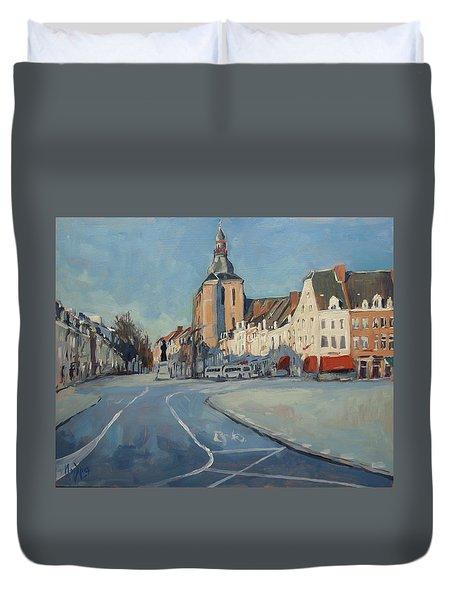 View To Boschstraat Maastricht Duvet Cover