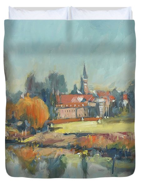 View To Elsloo Duvet Cover