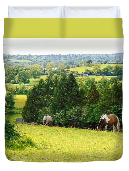 View To Kill For Duvet Cover by Linda Corby