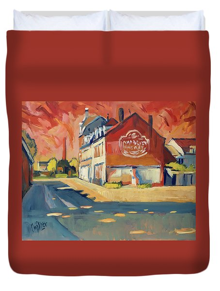 View To Radium Maastricht Duvet Cover