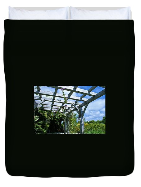 View To The Sky Duvet Cover by Lois Lepisto