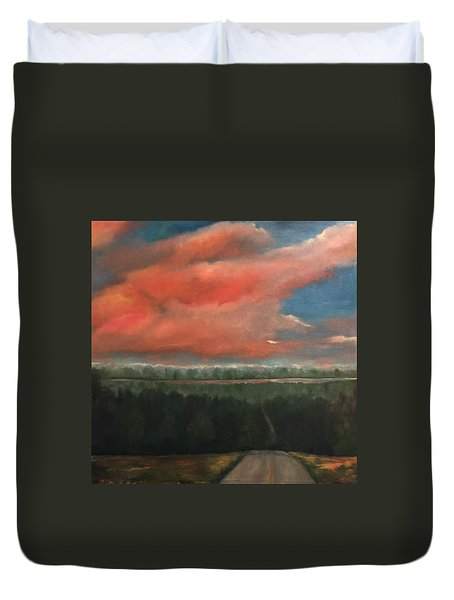 View To Yell County Duvet Cover