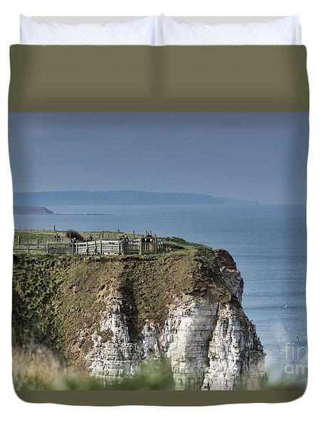 Viewpoint Duvet Cover by David  Hollingworth