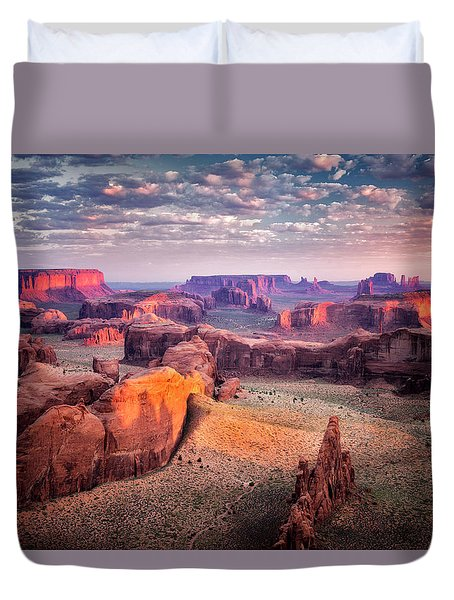 Views From The Edge  Duvet Cover