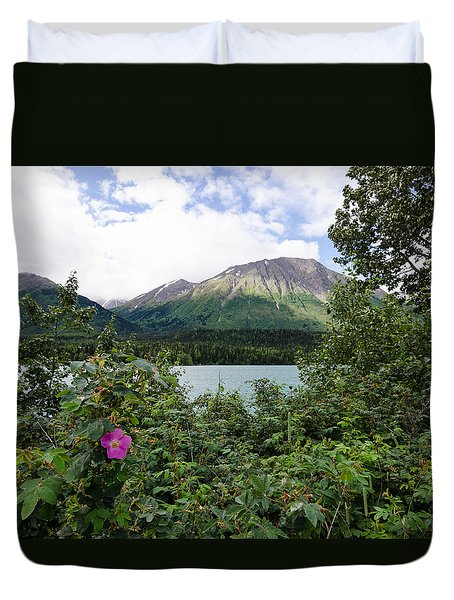 Views In Alaska Duvet Cover