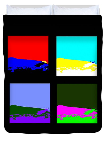 Views Of The Seasons Duvet Cover