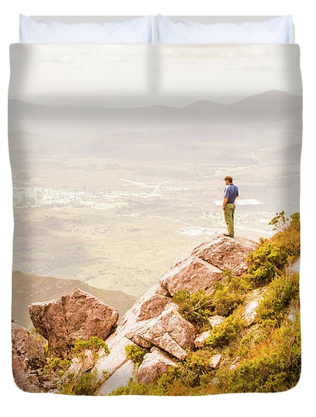 Views On West Coast Tasmania  Duvet Cover