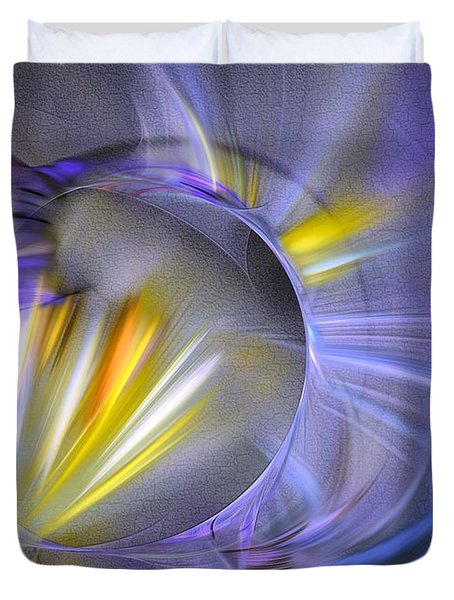 Vigor - Abstract Art Duvet Cover