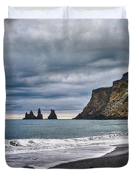 Vik Winter Wonderland Beach Duvet Cover