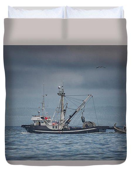 Viking Tide Duvet Cover