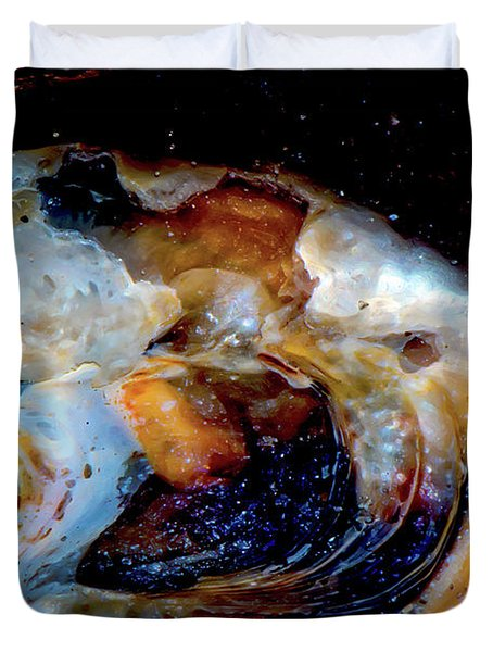 Vilano Sea Shell Constellation Duvet Cover