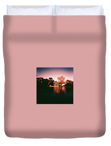 Villa Borghesse Rome Duvet Cover