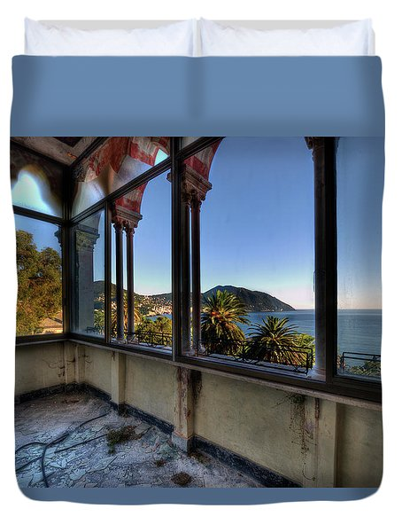 Villa Of Windows On The Sea - Villa Delle Finestre Sul Mare II Duvet Cover