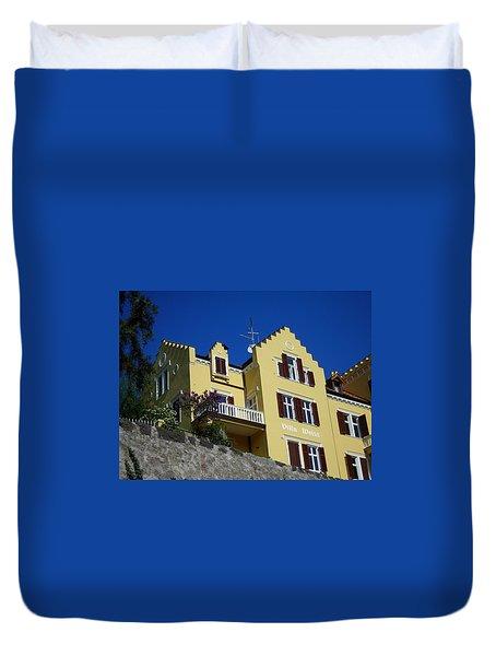 Villa Weiss Duvet Cover by Juergen Weiss