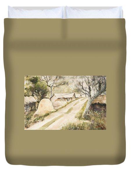 Village Freshness Duvet Cover