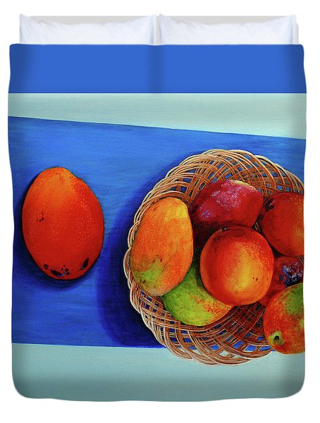 Vilma's Magical Mango's Duvet Cover