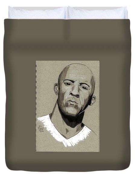 Vin Diesel Duvet Cover